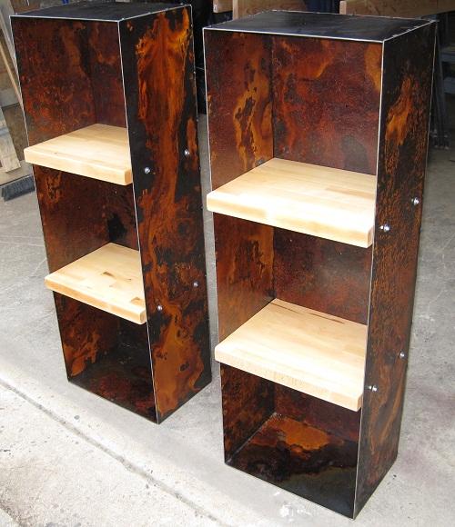 Custom Furniture Shelves For Philadelphia Bar Restaurant